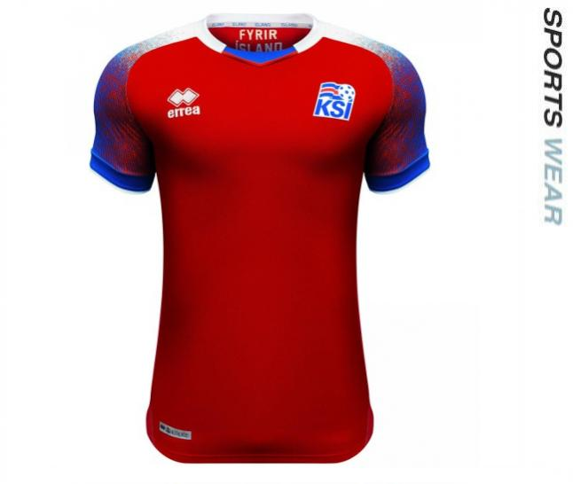 Errea Iceland 2018 Goalkeeper Shirt - Red SMKI6C03590IN