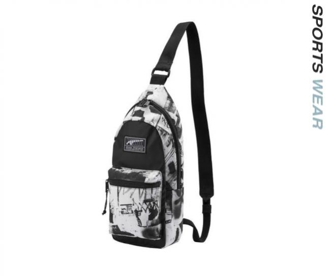 Puma Academy Cross Backpack Unisex - White Black