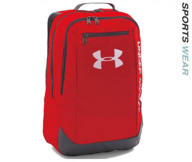 Under Armour Hustle LDWR Backpack - Red - 1273274-600