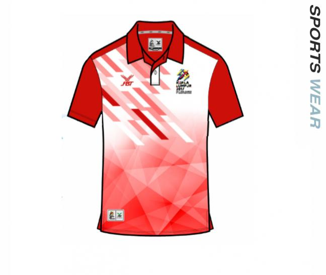 Sea Game Official Polo Shirt - 12P674 Red
