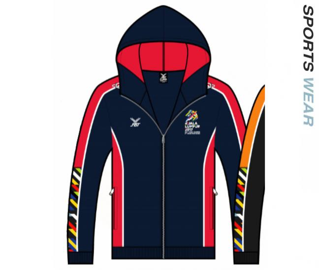 Sea Game Official Jacket - 12W469 Navy/Red