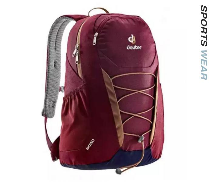 Deuter Gogo 25L Backpack - Maroon/Navy