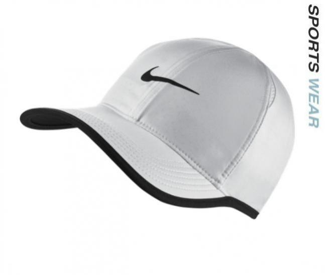 ca2cbe8cf75 SKU Number 679421-100. Nike Court Featherlight Adjustable Tennis Cap - White