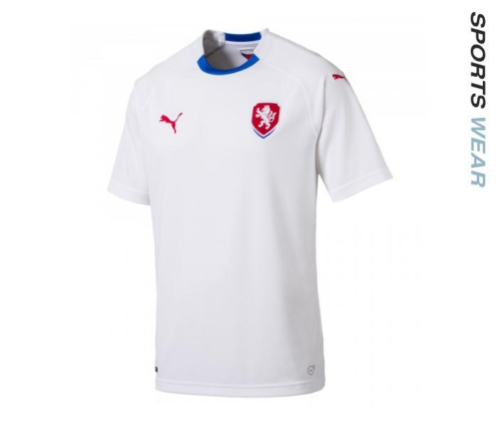 ff3ab2a52a3 SKU Number 752542-02. Puma Czech Republic 2018 Away Jersey- White
