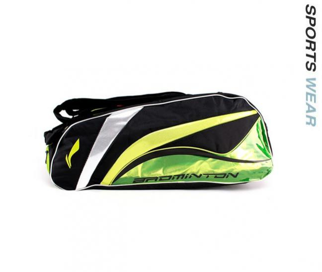 Li-Ning Racquet bag 9 in 1 - Green/Black