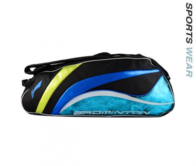 Li-Ning Racquet bag 9 in 1 - Blue/Black
