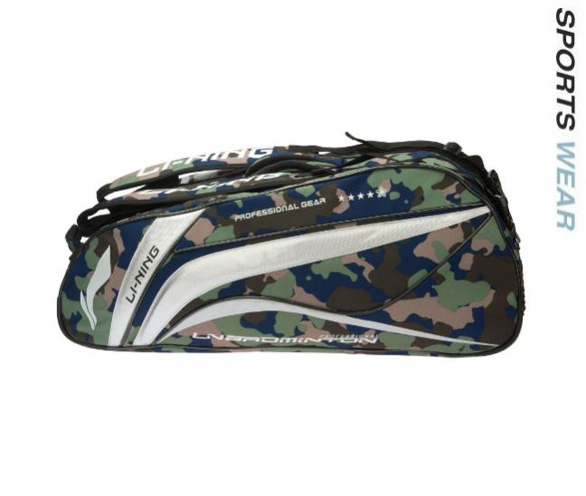 Li-Ning Racquet bag 9 in 1 Camouflage - Army Green