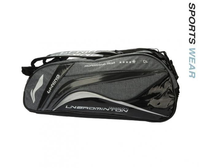 Li-Ning Racquet bag 9 in 1 Camouflage - Black