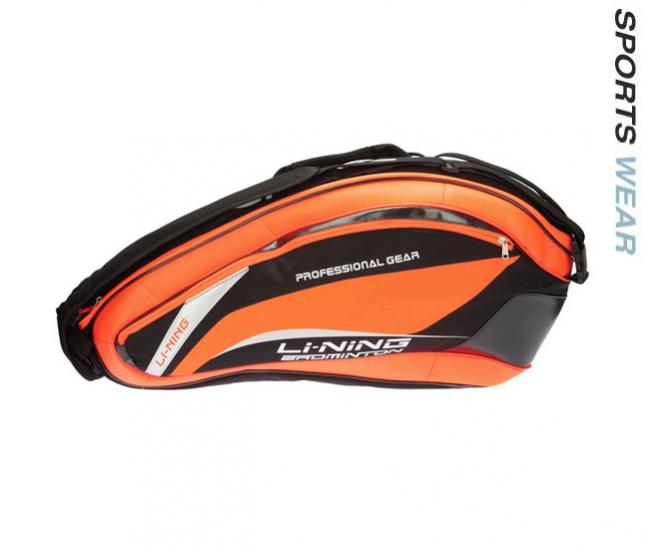 Li-Ning Racquet Bag 6 in 1 - Orange/Black