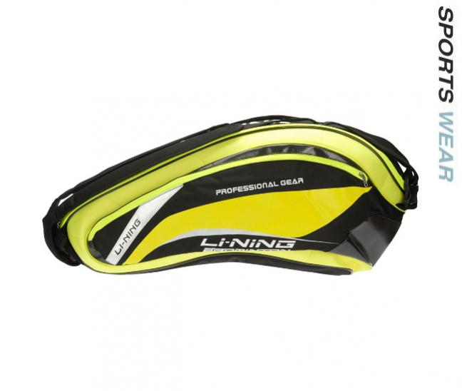 Li-Ning Racquet Bag 6 in 1 - Yellow/Black