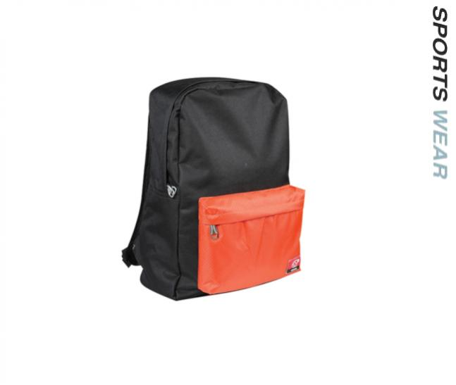 Arora Bag Pack-Black Orange
