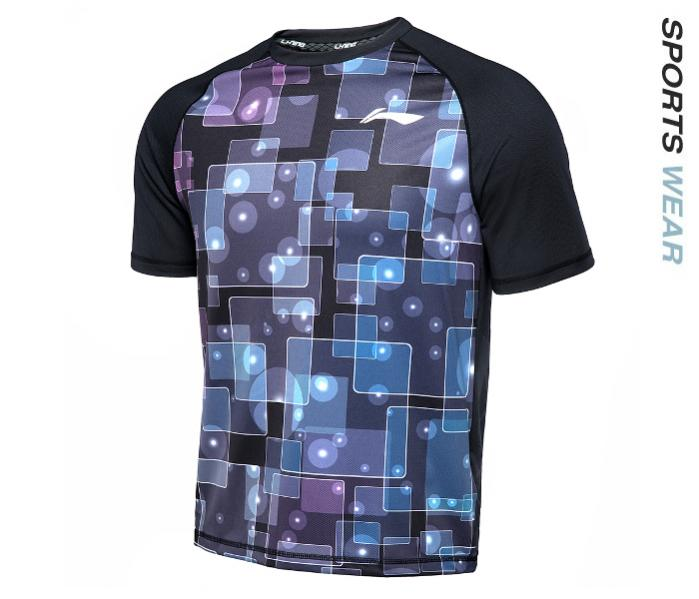 LI-NING Lining Men Kaos TEE - Black