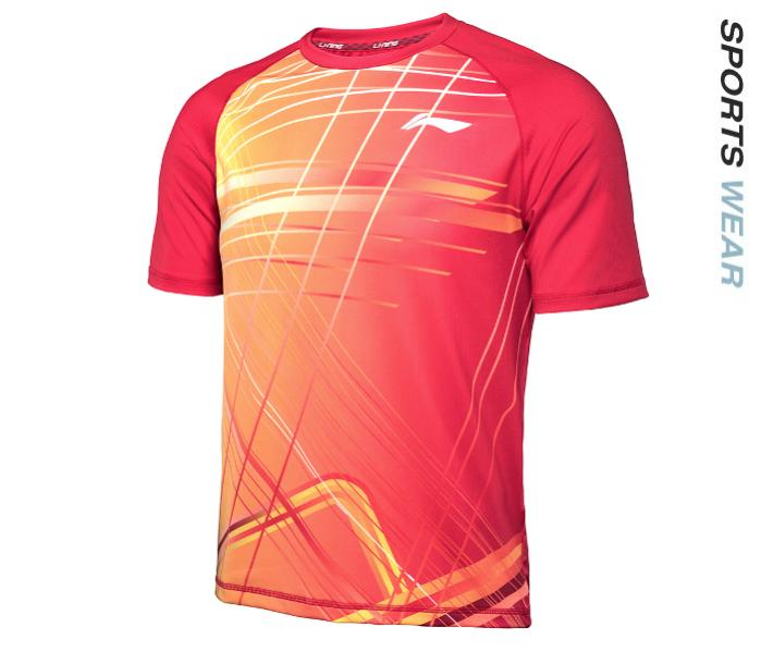 Li-Ning Mens RN TEE - Red