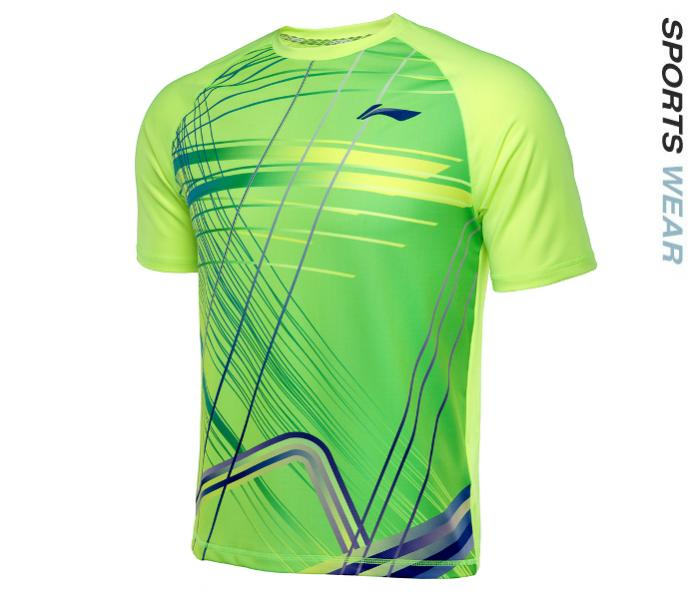 Li-Ning Mens RN TEE - Lime Green