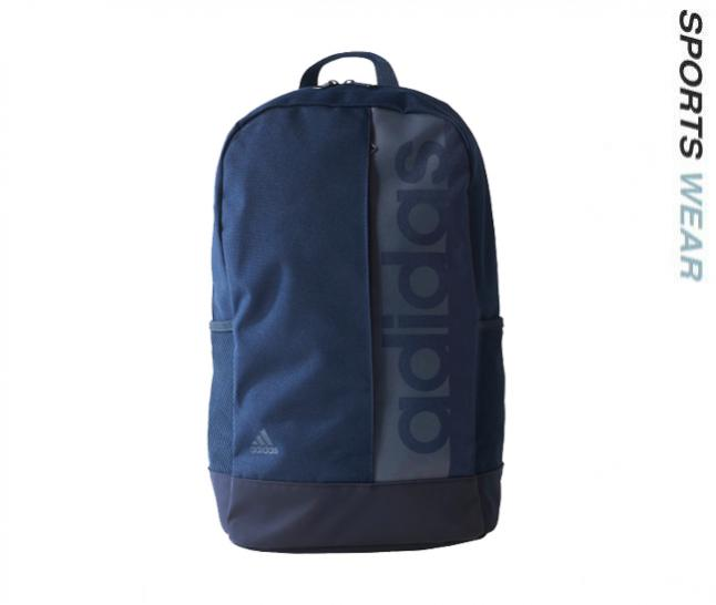 f8b46f52729 SKU Number BR50-87. Adidas Linear Performance Backpack - Navy BR5087