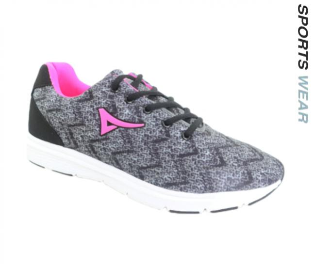 Connec Lady's Sport Shoes -Grey/Pink
