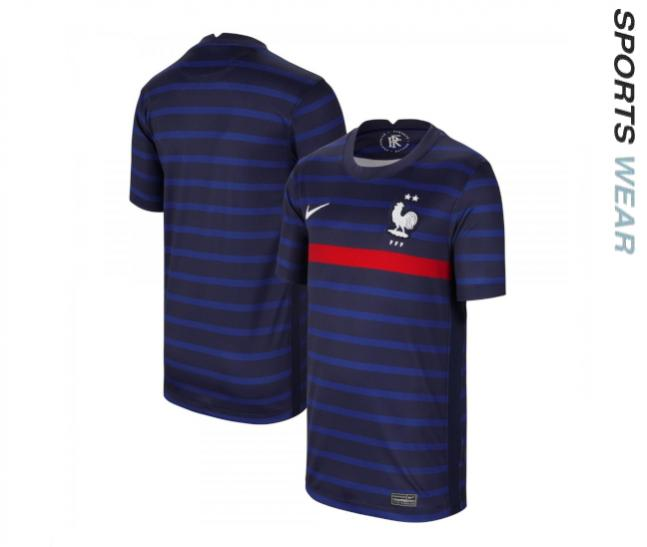 Nike France 2020 Youth Home Shirt