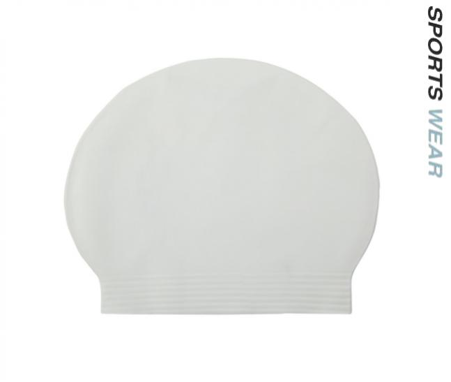 Latex Swim Cap - White