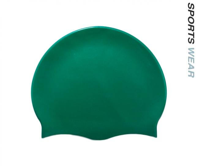 Silicone Swim Cap - Green