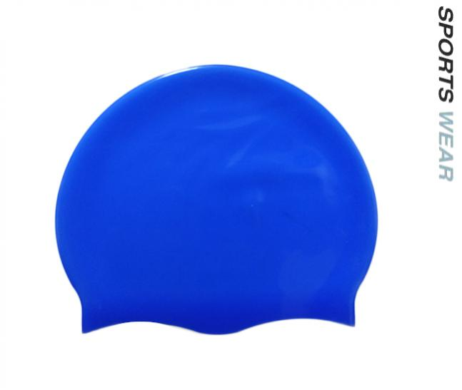 Silicone Swim Cap - Royal Blue