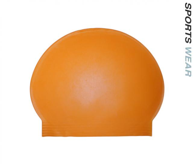 Latex Swim Cap - Orange