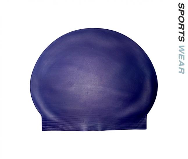 Latex Swim Cap - Navy