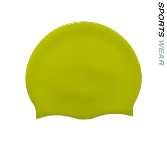 Silicone Swim Cap - Fluoro Yellow