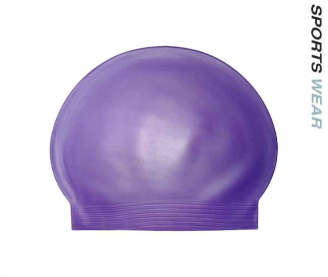 Latex Swim Cap - Purple