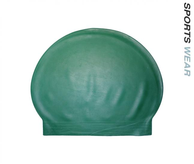 Latex Swim Cap - Dark Green
