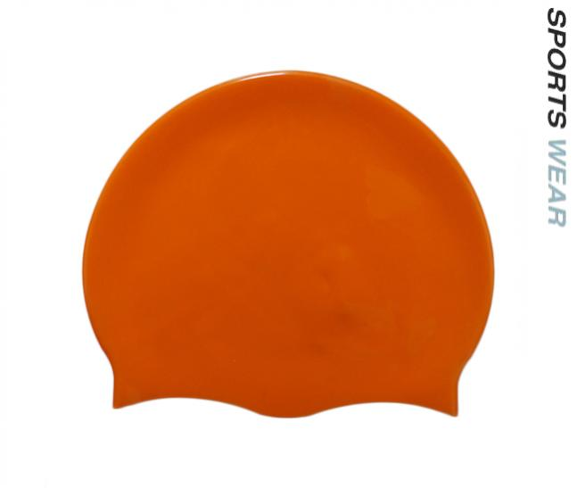 Silicone Swim Cap - Orange