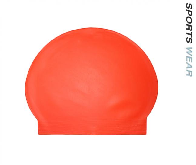 Latex Swim Cap - Fluoro Orange