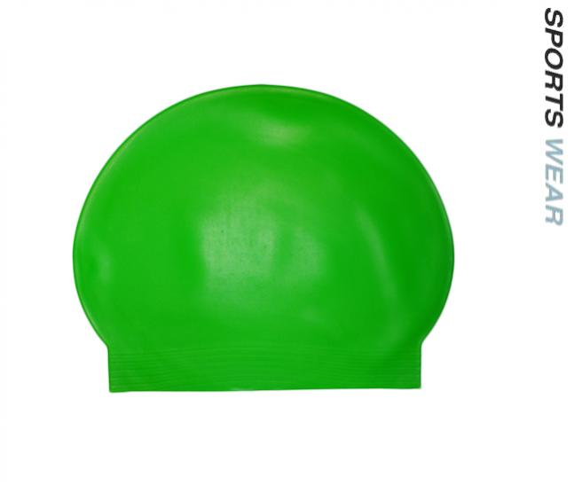 Latex Swim Cap - Fluoro Green