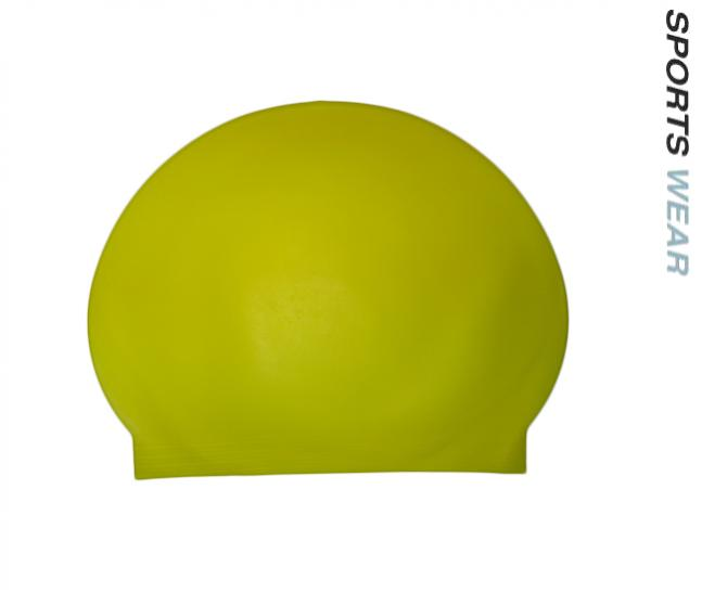 Latex Swim Cap - Fluoro Yellow