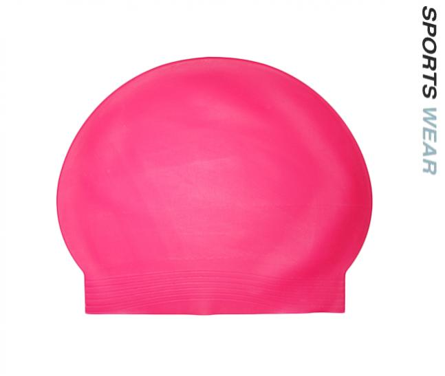 Latex Swim Cap - Fluoro Pink