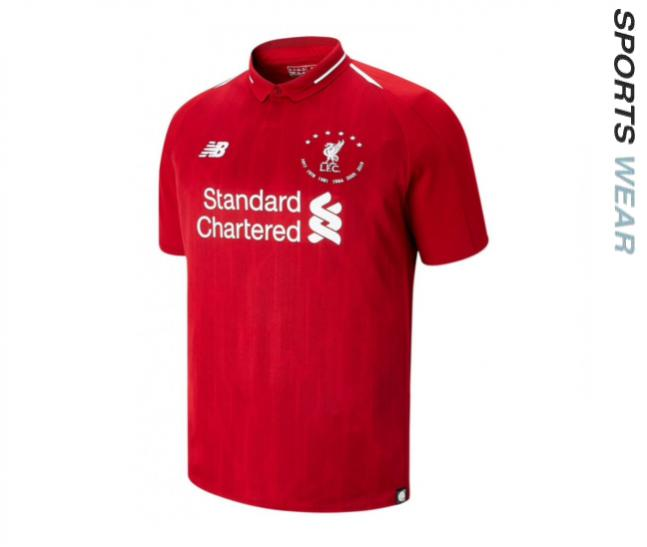 New Balance Liverpool 6 Times Signature Limited Edition Youth Shirt