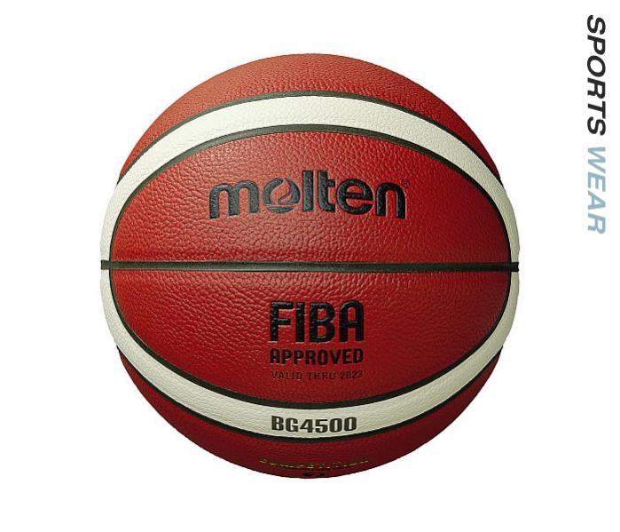 Molten B7G4500 Premium Leather Competition Basketball