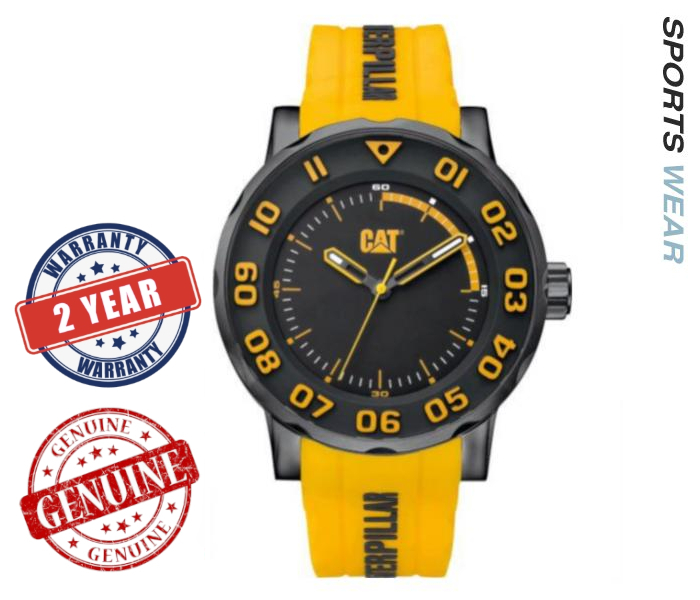 Caterpillar CAT Watches  Bold II - Black/Yellow