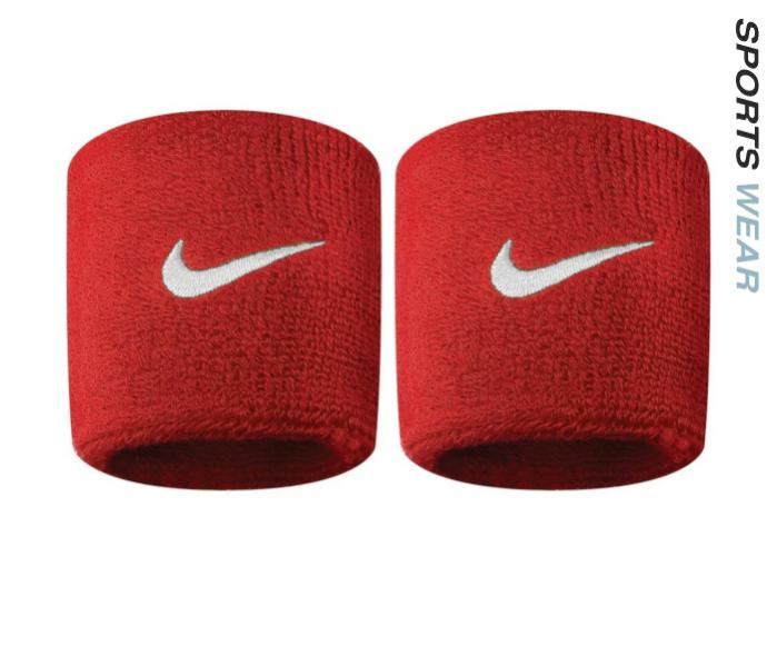 Nike Swoosh Wristbands - Red