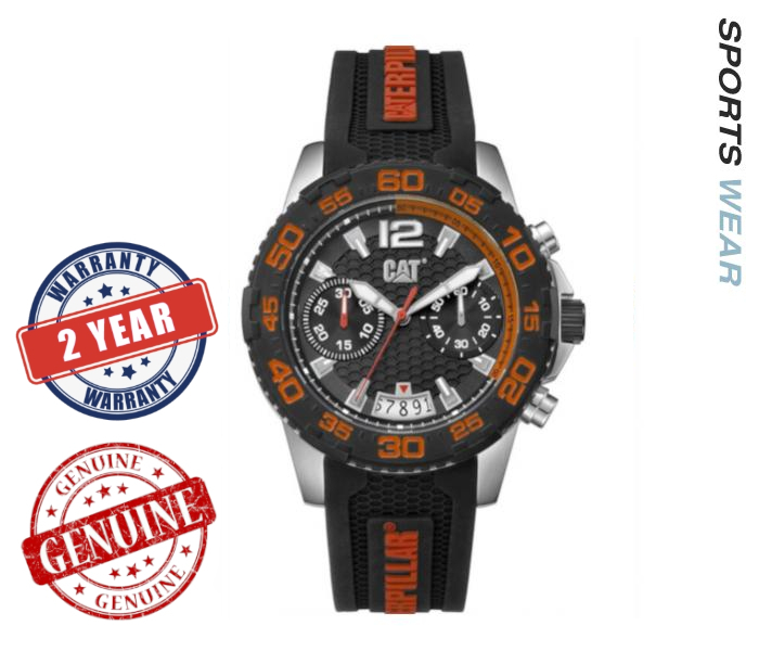 Caterpillar CAT Watches Drive Chrono - Black /Orange