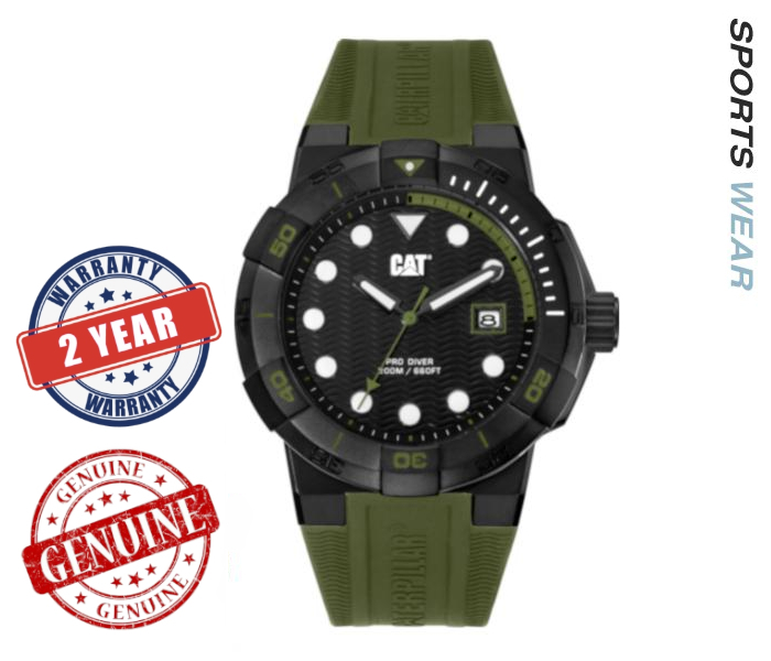 Caterpillar CAT Watches  Shock Diver -Military Green