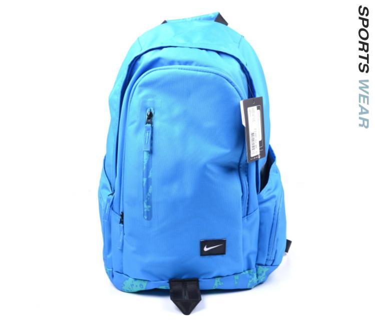 SKU Number BA4855-447. Nike All Access Fullfare Backpack Blue c17727d68933a