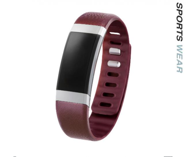 In Body Muscle & Fat Measure Band  - Red